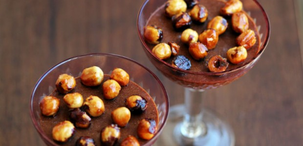 Mousse de Chocolate com Avelã