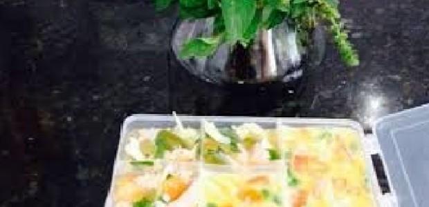 Omelete na Forma de Gelo