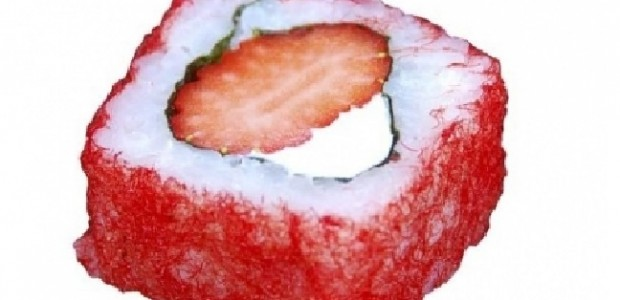 Sushi de Morango