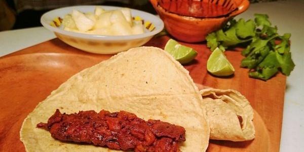 Tacos de Peixe ao Molho Picante