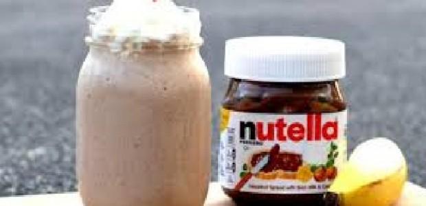 Milkshake com Nutella