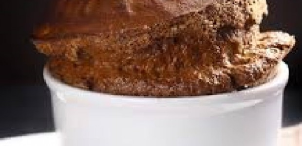 Suflê de Chocolate com 2 ingredientes