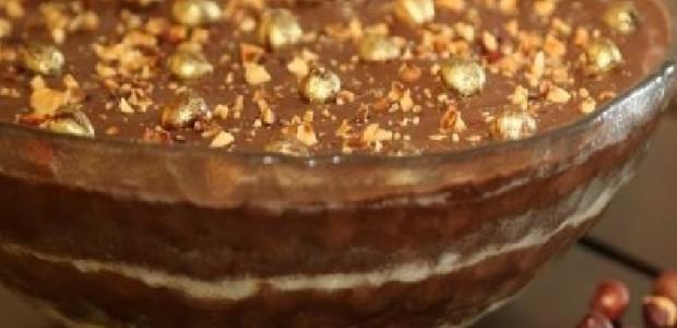 Torta Ovo de Páscoa com Nutella