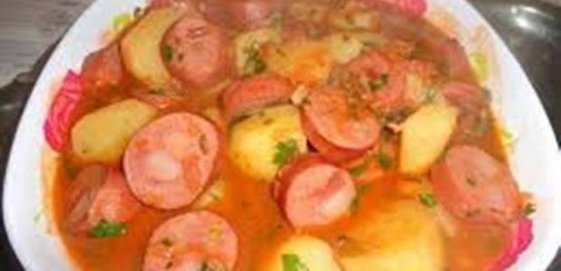 Ensopado de Linguiça com Batata