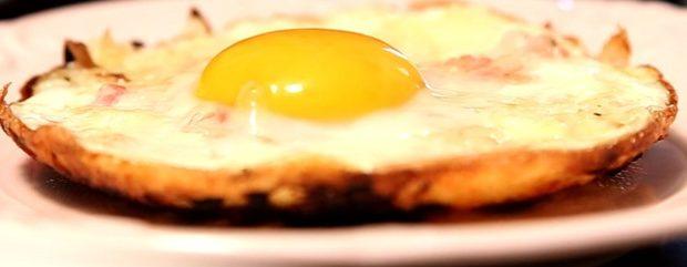 Batata Rosti com Ovo