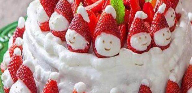 Bolo Gelado de Natal