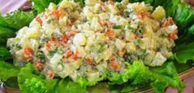 Salada de Maionese com Frango