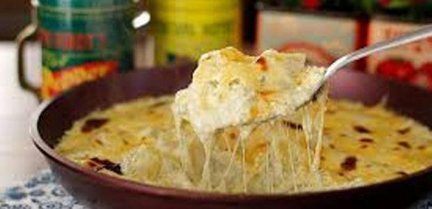 Batatas Gratinadas com Gorgonzola