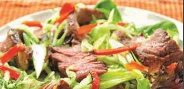Salada de Churrasco