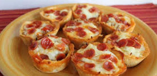 Cupcakes de Pizza