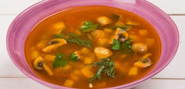 Sopa de Legumes com Champignons