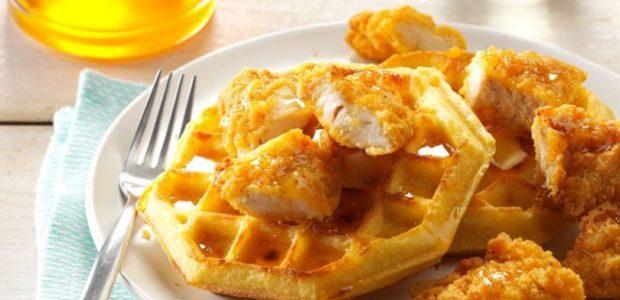 Frango & Waffles